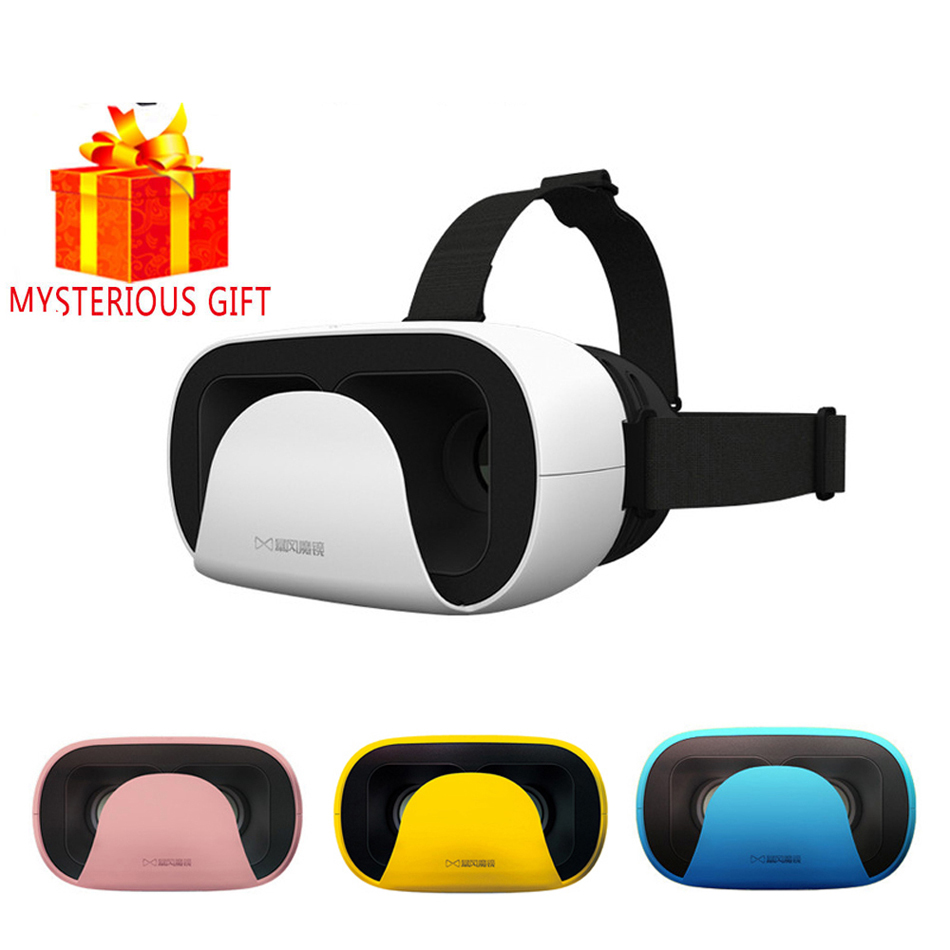 VR Box Stereo 3D 3 D Gerceklik Virtual Reality Glasses Goggle Headset Helmet For iPhone Smart Phone Smartphone Google Cardboard