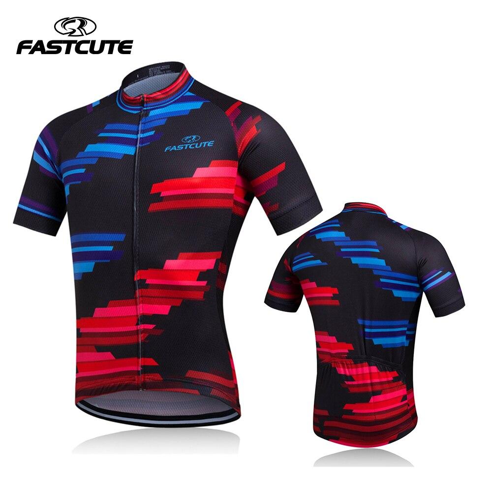 Prix pour 2017 nouveau style pro d'été cyclisme jersey hommes vélo top vélo t-shirt vélo ciclismo maillot bicicleta clothing sport jersey
