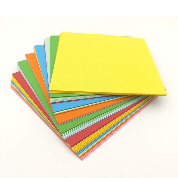15x15cm Size Color Origami For Primary School Art Class Paper