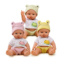 Doll Reborn Baby Dolls For Girls Doll Baby Born Toys For Kids Gift Realistic Silicone Reborn Dolls 1/12 Soft Toy Baby Boy