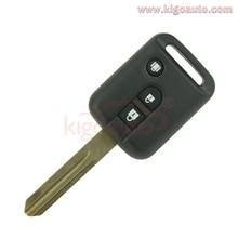 Ningún chip clave 3 botón 315 Mhz Remoto para Nissan 350Z Pathfinder Navara Micra Almera Nota X-trial Qashqai kigoauto