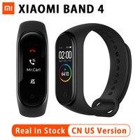 Original 2019 Newest Xiao Mi Mi Band 4 135mAh Color Touch Screen Bluetooth 5.0 Fitness Tracker Sports Smart Bracelet Smart Watch