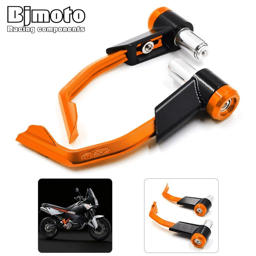 LG-007 pour KTM 125 200 390 690 990 DUKE Orange moto CNC aluminium Proguard freins embrayage leviers protéger garde 7/8