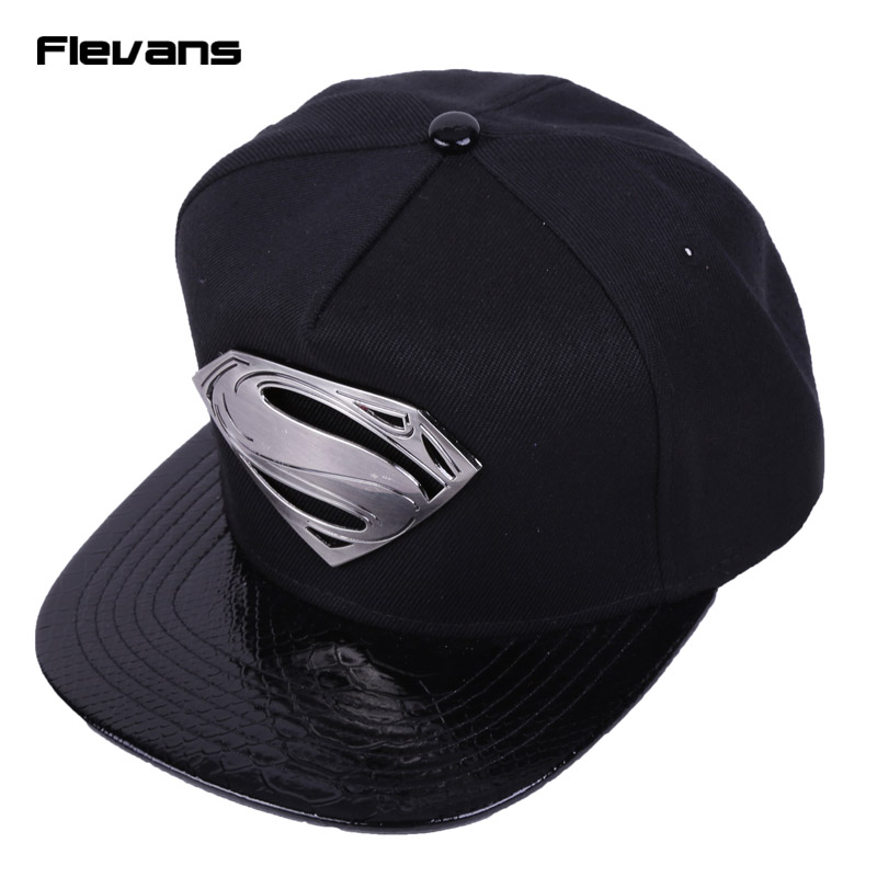 2016 New Fashion Superman Snap Back Snapback Caps Hat Cool Adjustable Gorras Super Man Hip Hop Baseball Cap Hats For Men Women 2016 new kids minions baseball cap fashion adjustable children snapback caps gorras boys girls gorras planas hip hop hat 2202