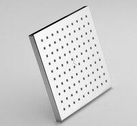 Free Shipping Modern Design Rain Shower Square 8 Inch 20x20cm Bathroom Rain Shower Head TH088