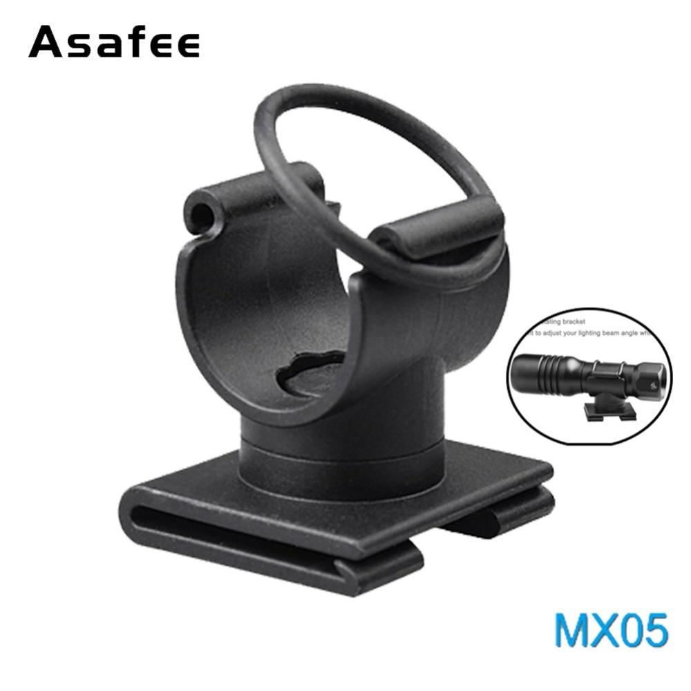 MX05 High Quality Dive Torch Mount 20MM 360 Degree Rotating Dive Mask Flashlight Light Bracket Diving Flashlight Holder