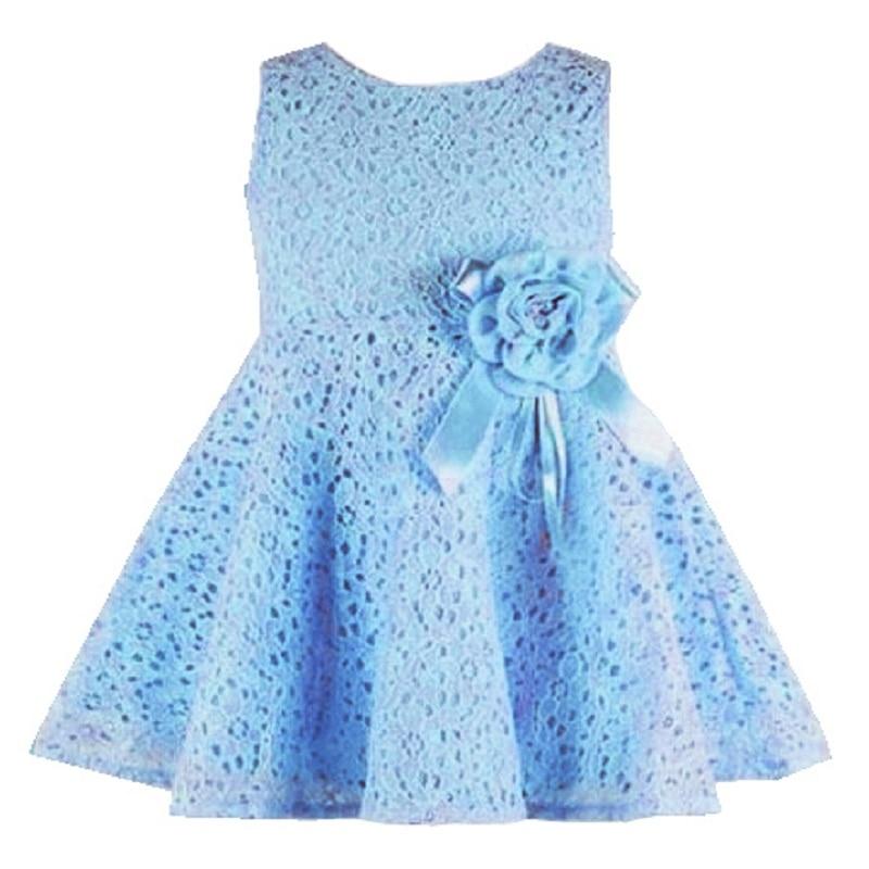 Baby Red Dress 2017 Cute Girl Dresses Princess Sleeveless Little Girls Dress Tutu Lace Flower Party Wedding Vestidos Clothing