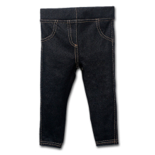 Fashion High Quality Wholesale Unisex baby boy Jeans Baby's jeans baby girls pants jeans child elastic waist Retail