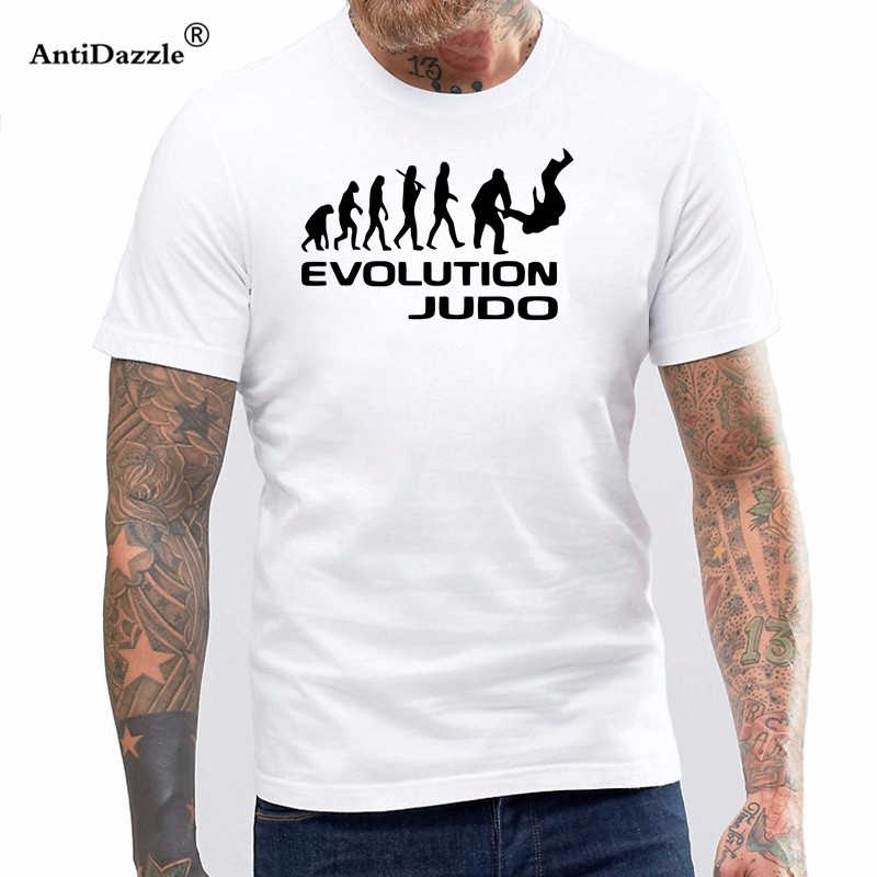 b1a18cabaa5a Detail Feedback Questions about New Summer Evolution Of Judo Funny Adult Men  Cotton Short Sleeve T Shirts Rap Tees on Aliexpress.com