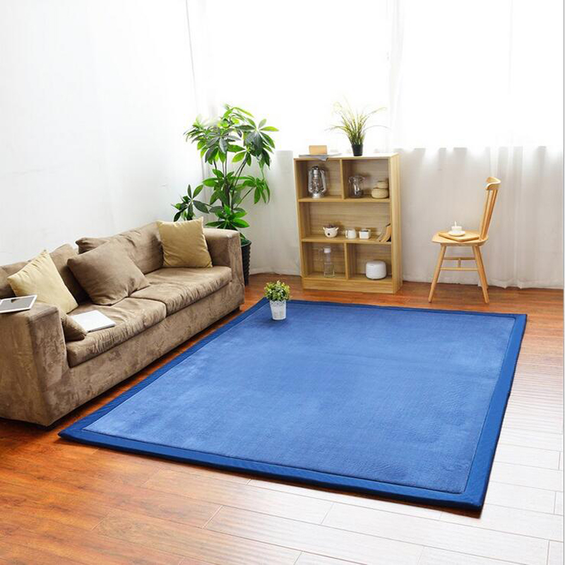 Mat For Home Parlor Bedroom Living Room 9 Dimensions: Thick Coral Fleece Tatami Mat Coffee Tea Table Bedroom