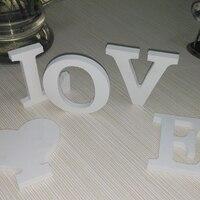 new diy wall stickers 3d sticker creative decoration wedding gift love letters decorative Alphabet wall decor