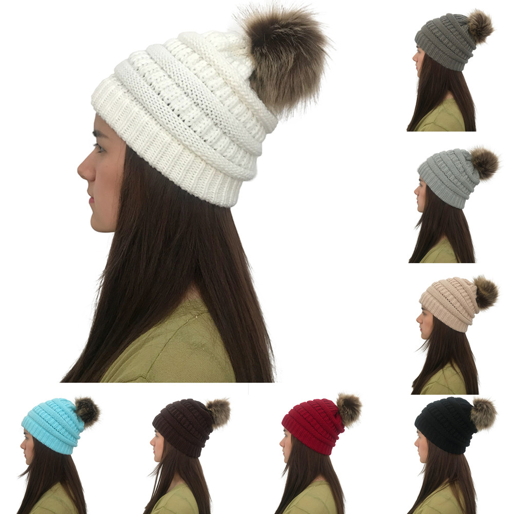 06caa0ff97e88 Detail Feedback Questions about KANCOOLD winter warm knitted hat Big ...