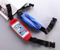 Gym Waterproof Waist Clip Mobile Phone Case Touch Screen Bags For BlackBerry Neon DTEK50 Asus Zenfone