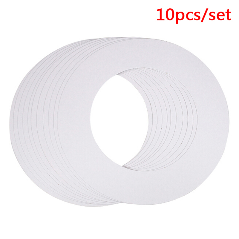 10pcs/set Melt Wax Cleaning Ring Body Shaving Hair Removal Tools Waxing Machine Cleaning Protection Paper Ring 14OZ Standard