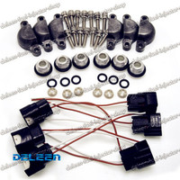 Fuel Injector adapter Kits for 90 93 300ZX Phase 1 2 VG30DE VG30DETT Turbo Z32 FAST SHIPPING