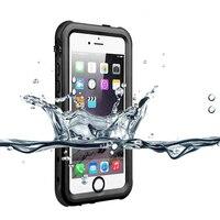 Hkhuibang caso do telefone à prova dshockproof água à prova de choque capa para o iphone 5 5S se caso toque id telefone original casos