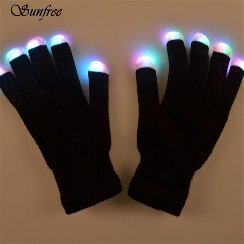 Sunfree 2016 Hot Led Gloves Party Light Show 6