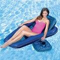 3 Peças/set 2016 Novo Assento Da Cadeira Inflável Deck Coasters Copo suporte de Poliéster Malha De Natação Piscina Flutuante Jangada Cama Para Adultos mulheres
