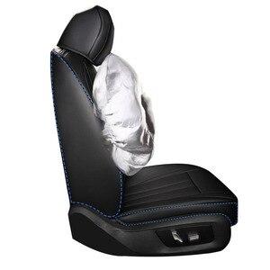 Image 3 - Car Believe Genuine leather seat cover For kia sportage 2018 4 cerato k3 carnival rio k2 3 4 optima accessories covers for car