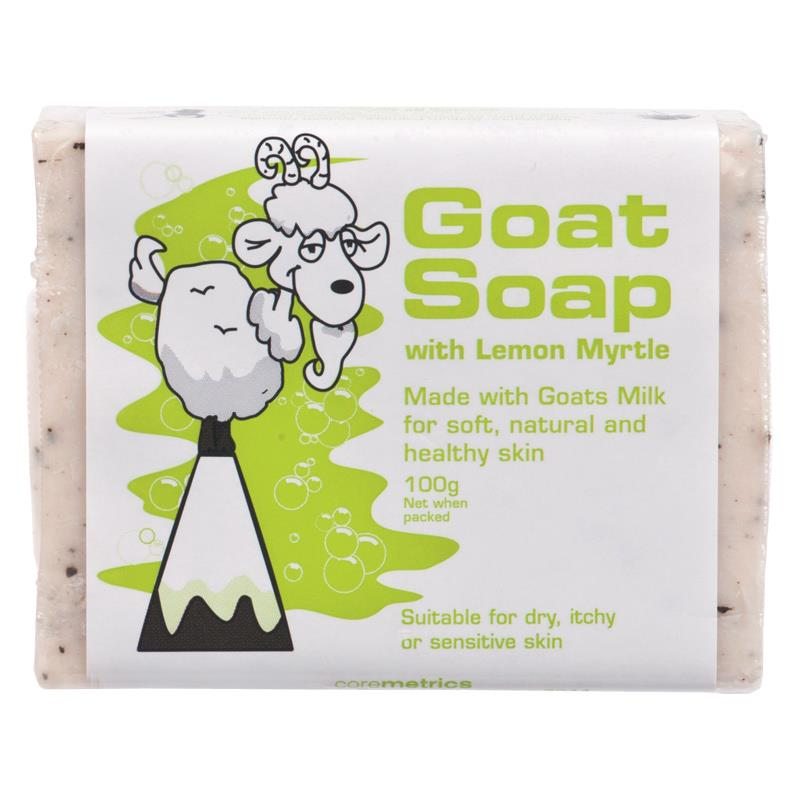 GoatMilk Premium Hand Made Soap Moisturizers  Lemon Myrtle, Soft Natural Healthy Skin, Relief From Eczema, Psoriasis,dermatitis