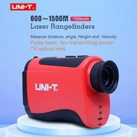 Teslecope Laser Rangefinder UNI T LM600 LM800 LM1000 LM1200 LM1500 monocular telescope hunting outdoor speed tested lase