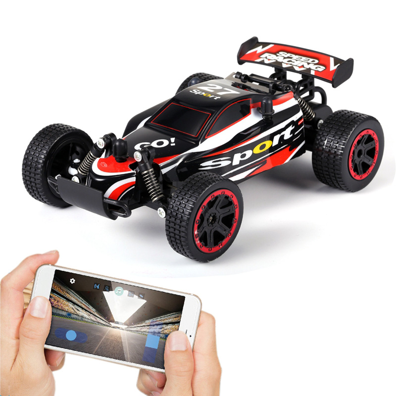 RC Car Bluetooth APP Control 2.4G 1:20 Scale Professional RC Racing Cars RC Off Road Vehicle Recharge Children's Mind Car Toy
