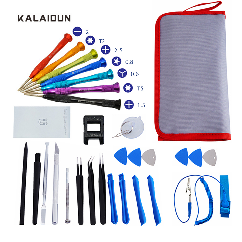 KALAIDUN 30 In 1 Precision Screwdriver Set Torx Screw Driver For Phones Electronics Tablet PC Repair Hand Tool Kit