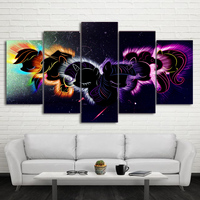 e640dd83e Canvas Pictures Wall Art Home Decor Modern Living Room HD Printed Cartoon  Posters 5 Piece Abstract