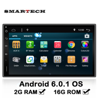 2 Din 2G RAM Android 6 Universal Full Touch Car Radio Car Unit GPS Navigation For