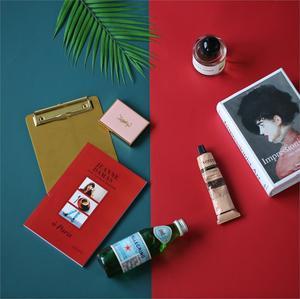 Image 3 - Цветные двухсторонние фоны Morandi для фотосъемки, бумажная доска, фотосъемка, фоновые аксессуары для продуктов, инструменты для макияжа