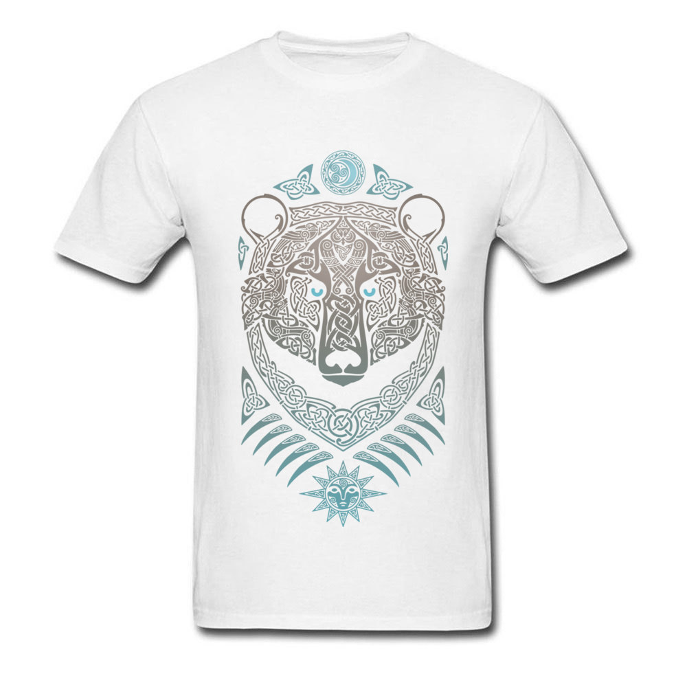 FOREST LORD Printed On Thanksgiving Day Pure Cotton Crew Neck Mens Tops & Tees Summer T-shirts 2018 Short Sleeve Top T-shirts FOREST LORD white