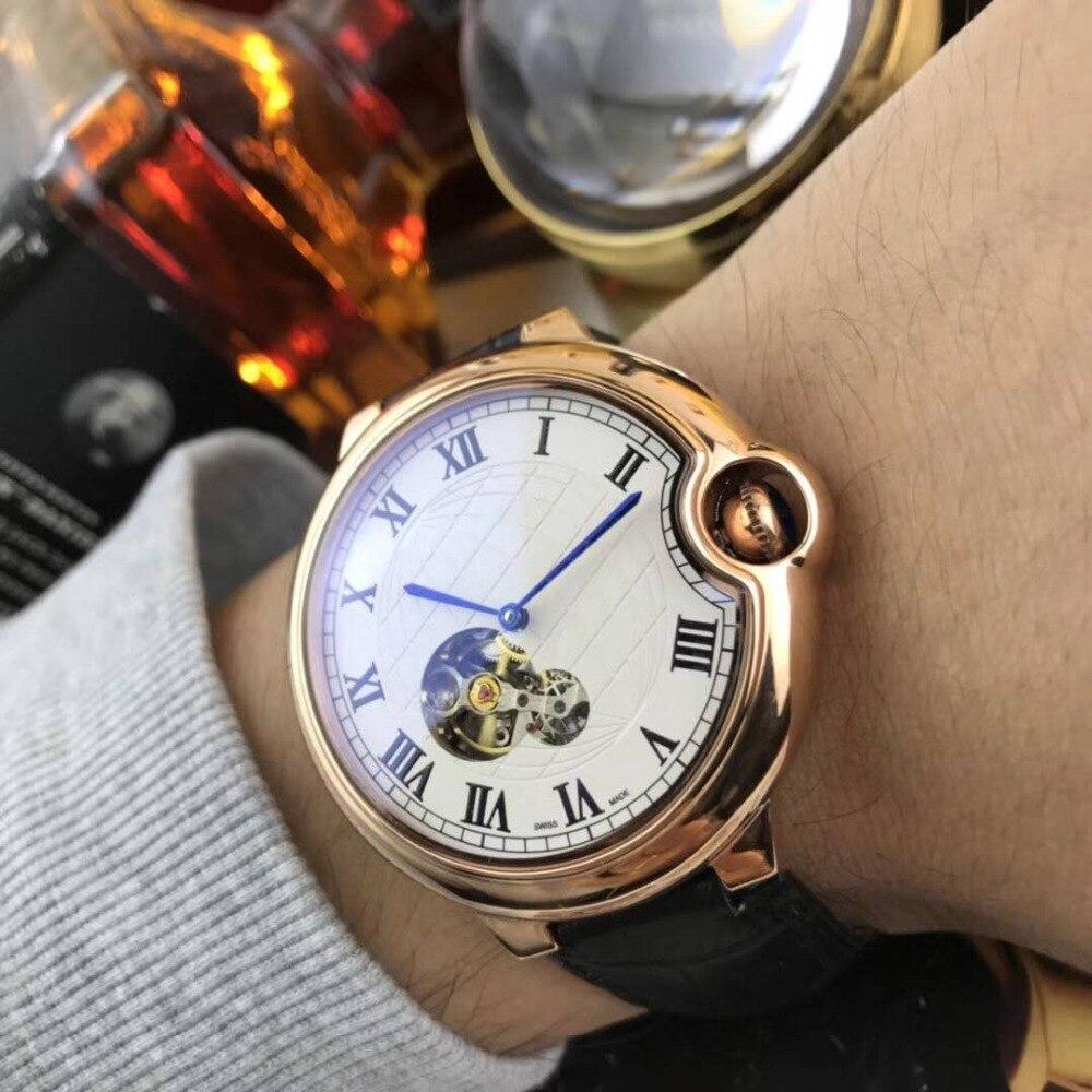 Mens Watches Top Brand Runway Luxury European Design Automatic Mechanical Watch S0728 цена и фото