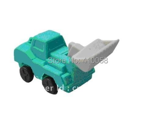 bulldozer eraser construction truck eraser for boys children small eraser 26 pieces per lot