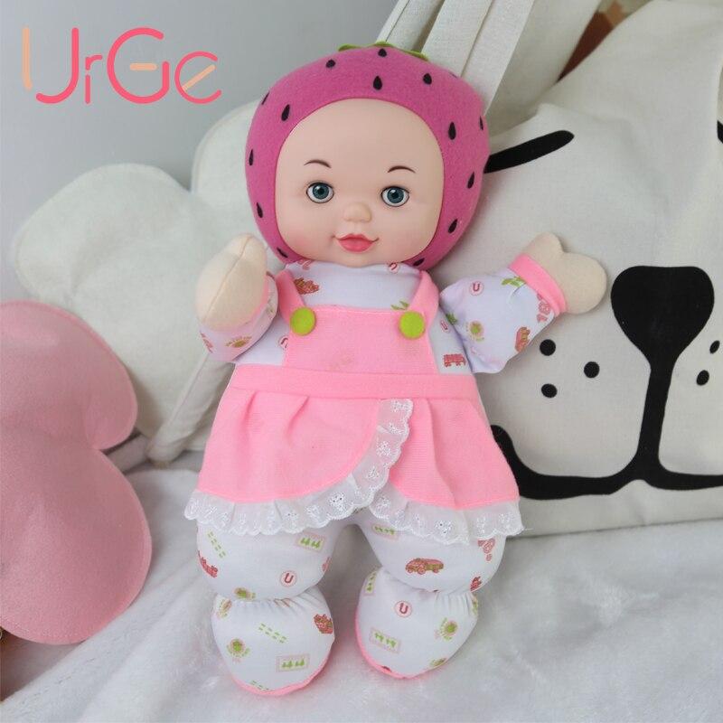 kawaii en peluche en peluche dessin animé enfants jouets pour enfants filles anniversaire cadeau de Noël poupées de fraises fruits pour les filles exhortent