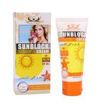 Face Sunscreen Cream Protetor Solar Facial Cream Sun Skin Filter Foundation SPF 50+ Sun Lotion Tanning Oil Control Moisture