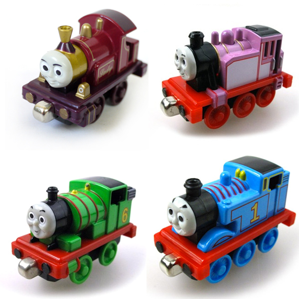 Tx 4Pcs Lot Magnetic Diecast THOMAS And Friend Lady Rosie Percy The Tank Engine Lead