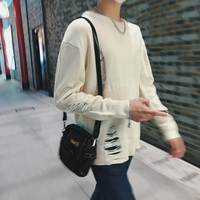 2018 Spring And Summer New Men's Cotton Wool Solid Color Simple Personality Fashion Wild Casual Business Sweater