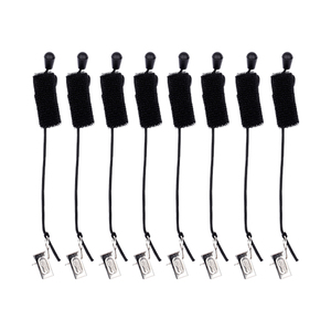 Image 2 - Pinzas de Fondo de estudio para fotografía, 8 unids/lote, abrazaderas de fondo, soporte de abrazadera, Clip de fondo, soportes de muselina, clips