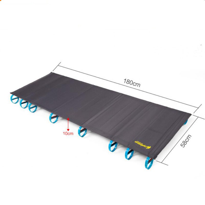 Image 2 - VILEAD Ultralight Folding Camping Cots 180*58 cm Bed Aluminum Comfortable Portable Waterproof for Self drive Travel Camping Beds-in Camping Cots from Sports & Entertainment