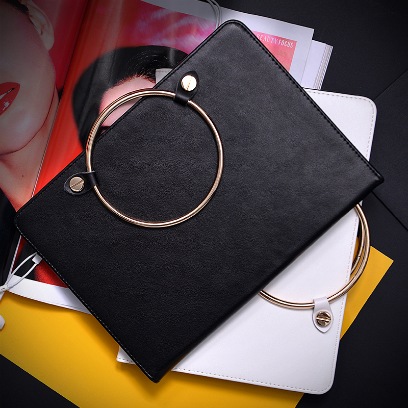 все цены на  Smart PU Leather Case Flip Cover For Apple iPad 2 3 4 9.7 Tablet Case for ipad2 ipad3 Cover Protective Hand Bag Skin  GD  онлайн