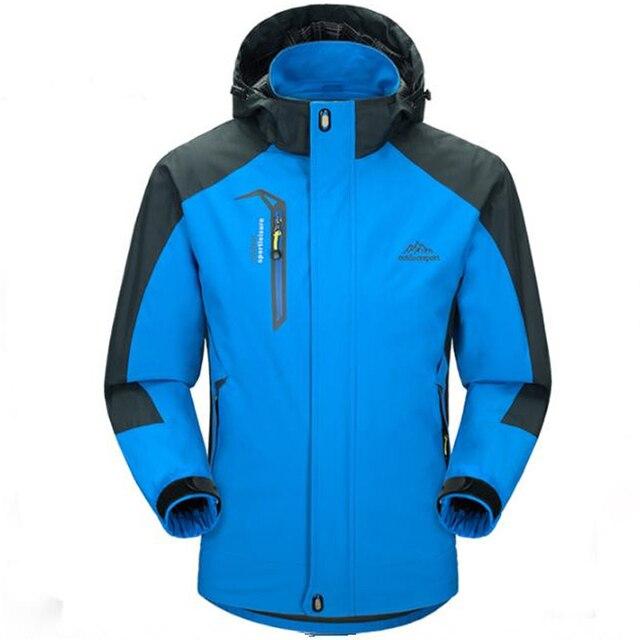 Jaqueta masculina Winter Jacket Men Army Windproof Hood Breathable mens jackets and coats Windbreak Coat Plus Size L-5XL
