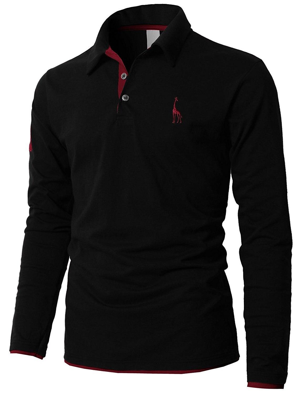 Mens Polo Shirt Brands 2018 Male Long Sleeve Fashion Casual Slim