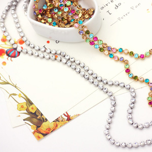 Image 4 - Neoglory Austrain Crystal Colorful Long Chain Beads Tassel Necklaces for Women Girl Fashion Jewelry Gifts 2020 Colf