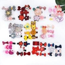 Mädchen Haarschmuck Mädchen Cute Outdoor Haarspangen Mickey Mouse Fünf-Sterne-Form Haarschmuck