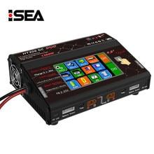 HTRC HT306 DC DUO 600 W * 2 30A * 2 de Doble Pantalla Táctil LCD RC Balance de La Batería Cargador para Lilon/LiPo/LiFe/LiHV/NiMH/NiCd/PB de La Batería