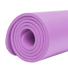 8mm Thick 1830*610mm Yoga Mat For High Quality NBR Non-Slip Yoga Mats For Beginner Fitness Exercise Tasteless Gym Pads Bag yoga mat pilates mat yoga block waterproof environmental tasteless for beginner indoor fitness exercise camp