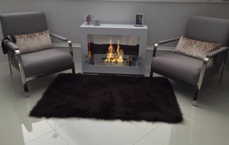 On Sale 60'' Ethanol Fireplace With Remote Control Chimenea De Etanol