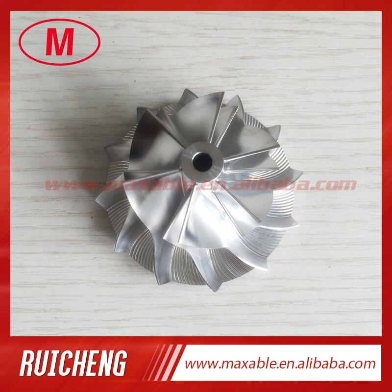 TD04HL 42 00 60 00mm 6 6 blades high performance Turbocharger Billet milling aluminum 2618 compressor