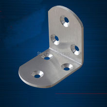 free shipping 5*5*3.8cm metal corner bracket stainless steel furniture corner hardware part fitting  fastner tool box bag corner