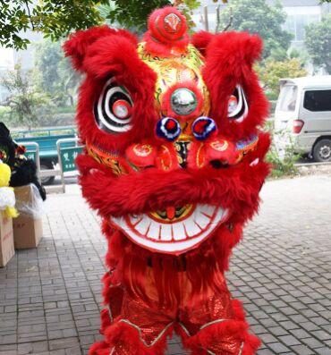 vörös kínai oroszlán jelmez kínai oroszlán tánc jelmez - Jelmezek